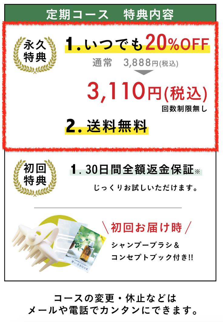 haru kurokamiスカルプシャンプーの定期コース説明