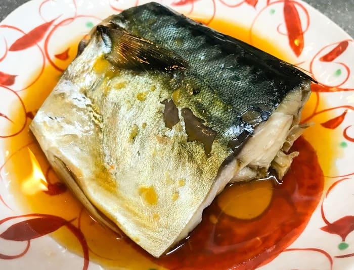 山本ゆりレシピ本で魚の煮つけがレンジで完成