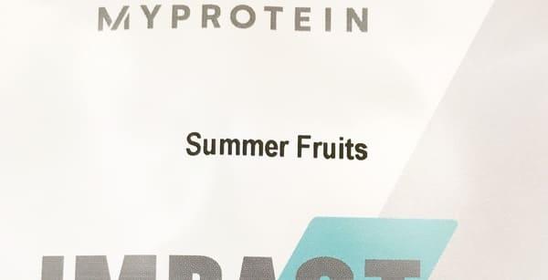 マイプロテイン サマーフルーツ味 口コミレビュー ブログ