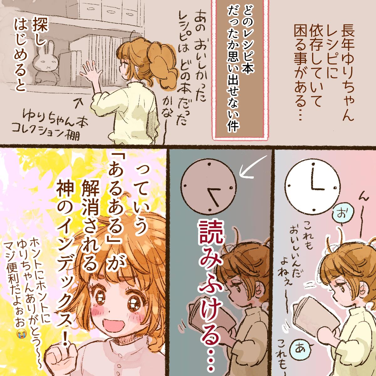 syunkonカフェごはん10冊分INDEXについての漫画